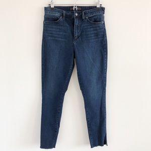Joe's Jeans High Waisted Stretch Skinny Blue Jeans